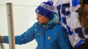 Jääkiekkovalmentaja Katja Pasanen